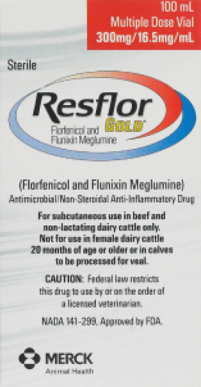 Departments - RESFLOR GOLD 500ML (RX)